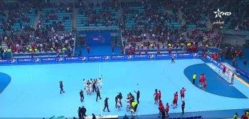 يد مصر تتأهل إلى اولمبياد طوكيو بعد إسقاط نسور قرطاج وثورة جماهير تونس