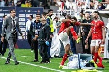 محمد فضل يرد  علي بيان الأهلي بتصريح صادم