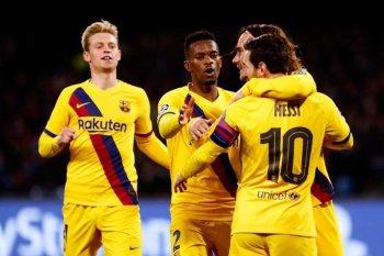 برشلونة يحرج نابولى فى ايطاليا وبايرن ميونيخ يكتسح البلوز فى إنجلترا