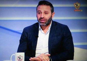 حازم إمام يقصف جبهة  الأهرام الرياضي بعد التطاول على الزمالك . ورد شبانة