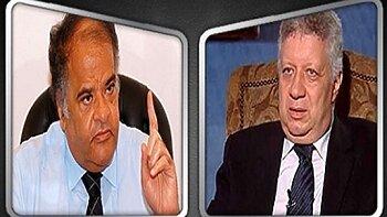 حرب التصريحات الإعلامية بين مرتضى منصور وممدوح عباس على عودة الدوري