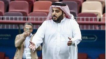 بالصورة.. تركي آل الشيخ يقصف جبهة الأهلي  بتغريدة نارية