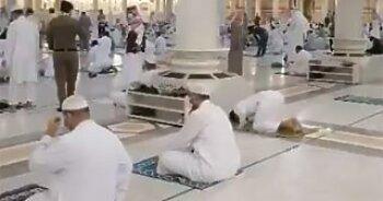 عودة الحياة لمساجد السعودية .. ودموع داخل المسجد الأقصى