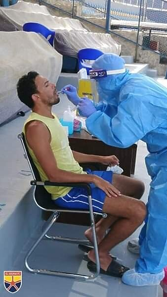 كورونا يضرب  4 فرق  الدوري المصري ..