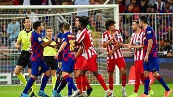 البث المباشر لمباراة برشلونة ضد أتلتيكو مدريد تعرف على نتيجة الشوط الأول