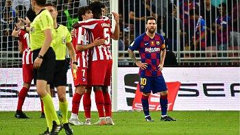 برشلونة ضد أتلتيكو مدريد .. 3 أسباب وراء سقوط البرسا .. وانيستا يظهر في الصورة