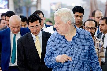 اخبار الزمالك يكشف . أشرف صبحى يمنح مرتضي منصور قبلة الحياة