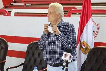 رد ناري من مرتضى منصور على الخماسية