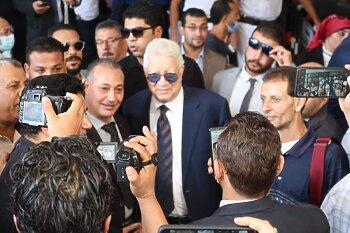 بالصور مرتضي منصور يقلب المنصورة بخوض انتخابات البرلمان ..ومشجع زمالكاوى لشوبير