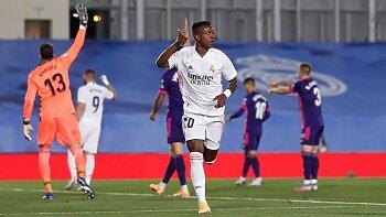 فينسوس ينقذ ريال مدريد من السقوط  في بلد الوليد ...فوز مانشستر يونايتد فى الكاس