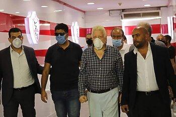 حقيقة نقل مرتضى منصور الى المستشفي
