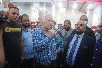 الكاف يحسم حضور مرتضى منصور نهائي دوري أبطال افريقيا