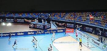 بطولة كأس العالم لكرة اليد نجوم الزمالك يقودو الفراعنة لاكتساح مقدونيا وقداح رجل المباراة