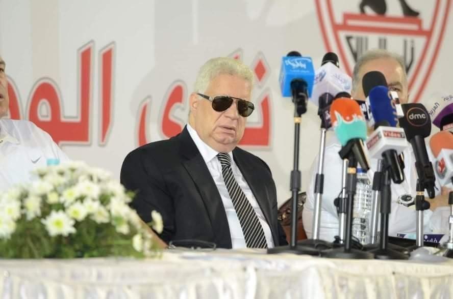 مرتضى منصور يطلق وابل من التصريحات النارية فى كل الاتجاهات  يؤكد الزمالك عامل زي الطيارة المخطوفة