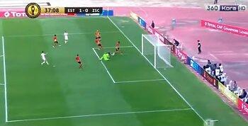الزمالك والترجي .. 3 أهداف وسيطرة بيضاء كاملة في الشوط الاول .. ومولودية الجزائر يصدم الزمالك