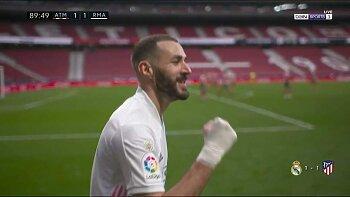 بنزيما ينقذ ريال مدريد فى الديربي . بخطأ من صلاح ليفربول يواصل السقوط