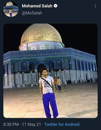 بالصور .. شيكابالا وصلاح والنني يشعلون مواقع التواصل بالقضية الفلسطينية