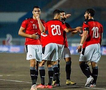 البلدوزر يقود  منتخب مصر الأولمبي للفوز علي جنوب إفريقيا وفتوح يصنع وعاشور يشارك