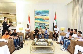 بالصور .. نكشف سداسي الزمالك وخماسي الأهلي فى سفارة الإمارات..تعرف على السبب