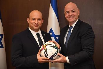 مفاجأة | فيفا يقترح على إسرائيل تنظيم مونديال 2030 مع دولة عربية متحديا مصر والسعودية