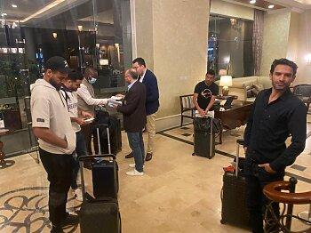 وصول الوفد الثالث من بعثة الزمالك إلى كينيا .. وحمدي النقاز يصل السعودية للانضمام لأهلي جدة